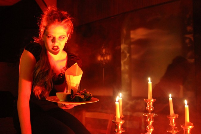 "Gruseldinner ""Dracula"" am 03. November 2018"
